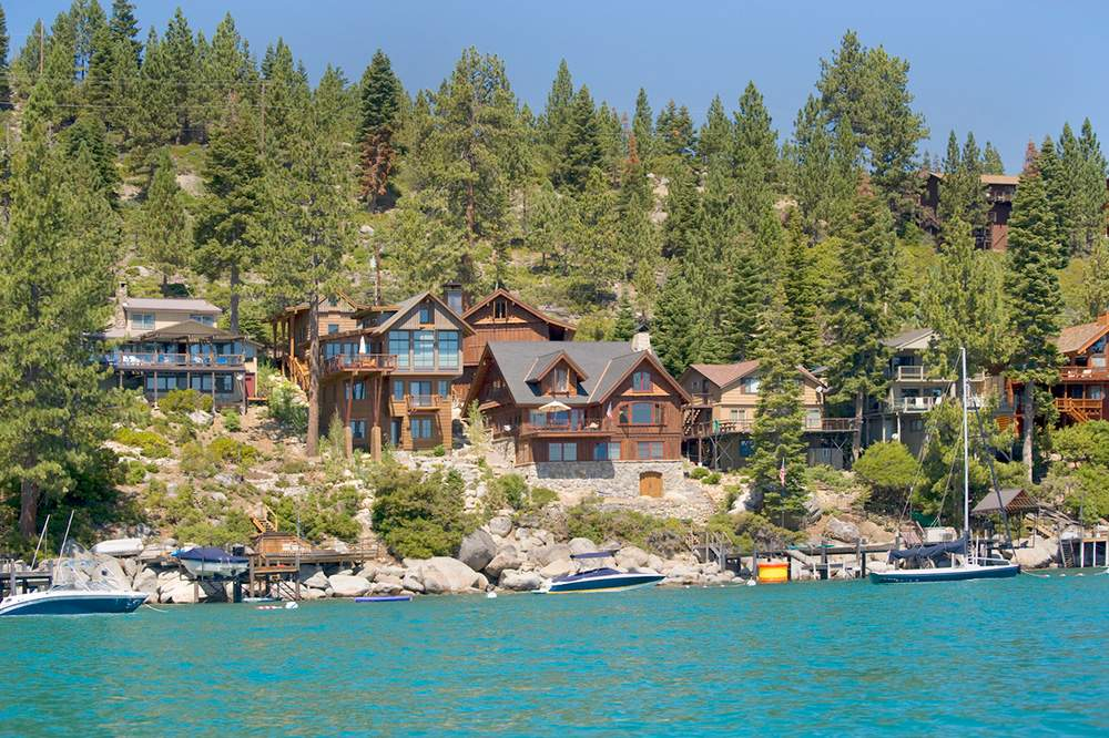 Lakefront nv lake tahoe real estate for Luxury lake tahoe homes for sale